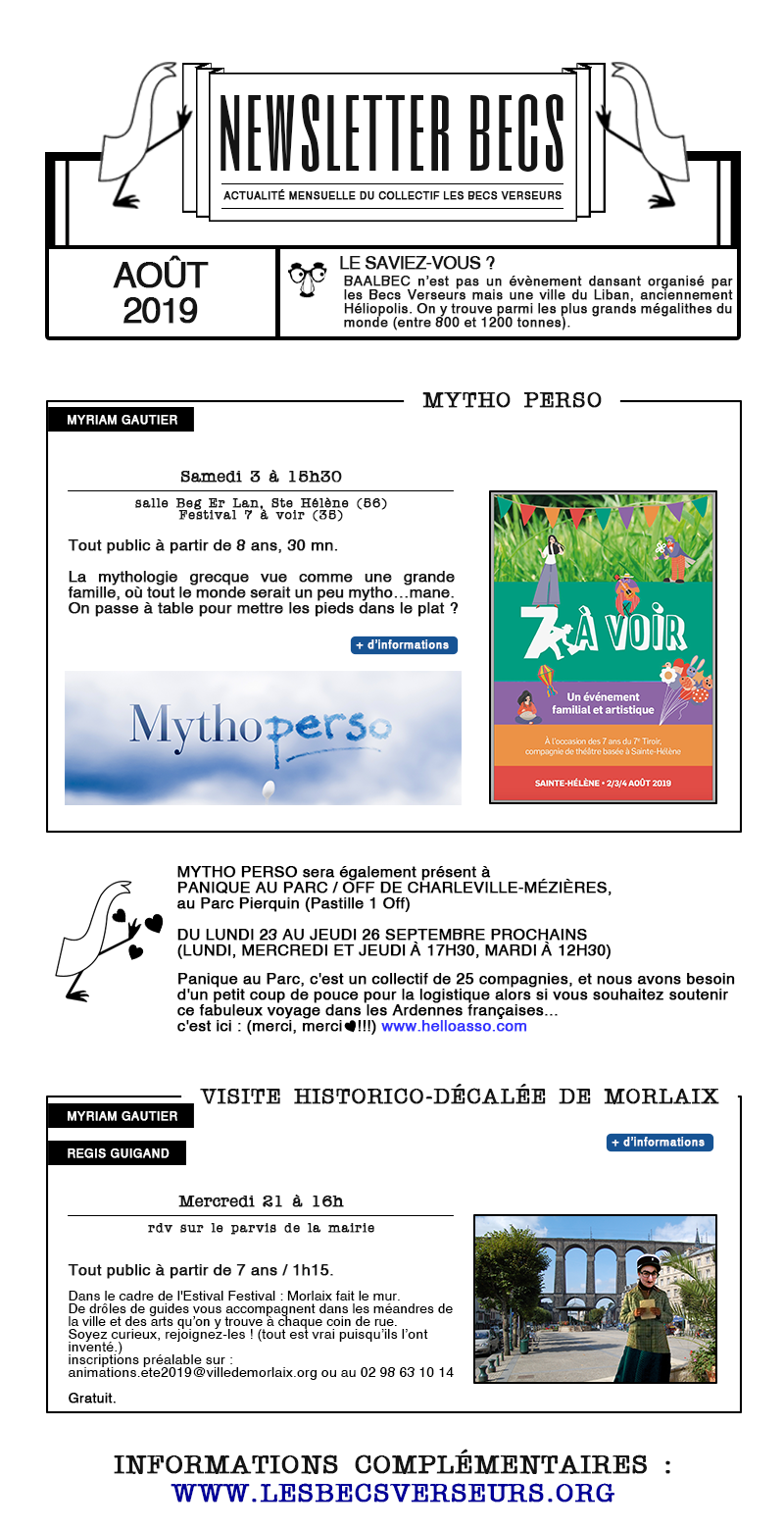 newsletterAout2019